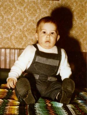 Oriol Rius quan era petit