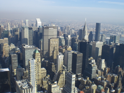 Vistes des del Empire State Building