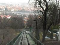 Praga - Petřín funicular