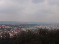 Praga - view from Petřín Lookout Tower