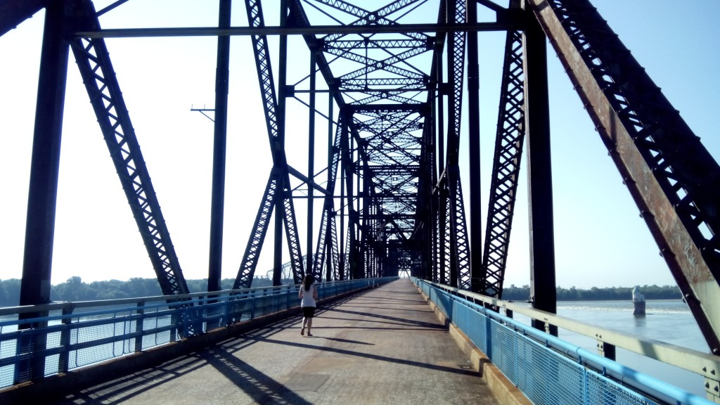 Old Chain of Rocks Bridge #1